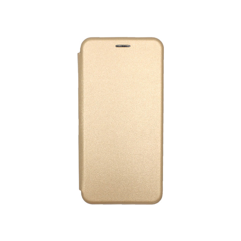 Θήκη Huawei Y9 2019 Πορτοφόλι με Μαγνητικό Κλείσιμο χρυσό 1