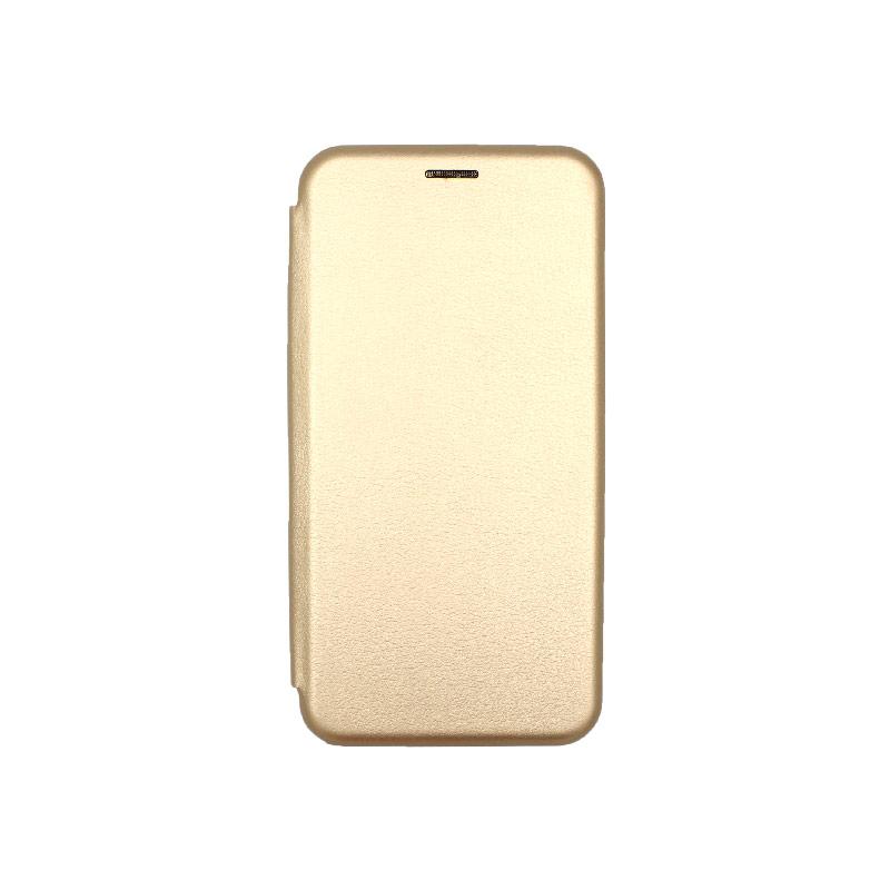 Θήκη Xiaomi Redmi 8 Πορτοφόλι με Μαγνητικό Κλείσιμο χρυσό 1