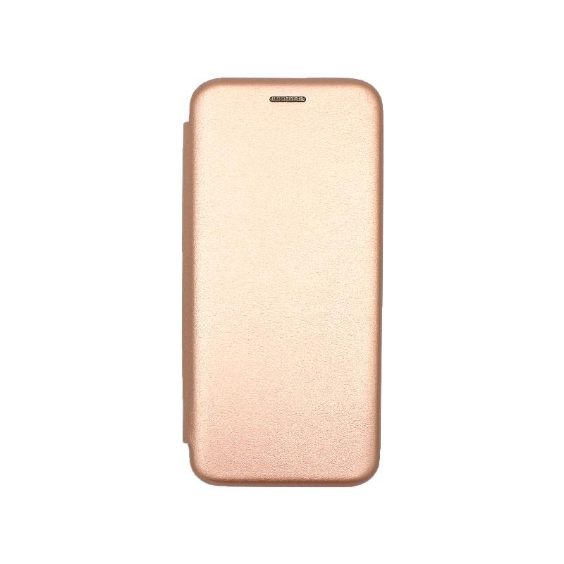 Θήκη Huawei P40 Pro Πορτοφόλι με Μαγνητικό Κλείσιμο χρυσό 1