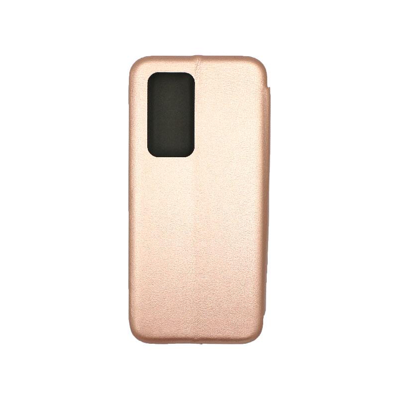 Θήκη Huawei P40 Pro Πορτοφόλι με Μαγνητικό Κλείσιμο χρυσό 2