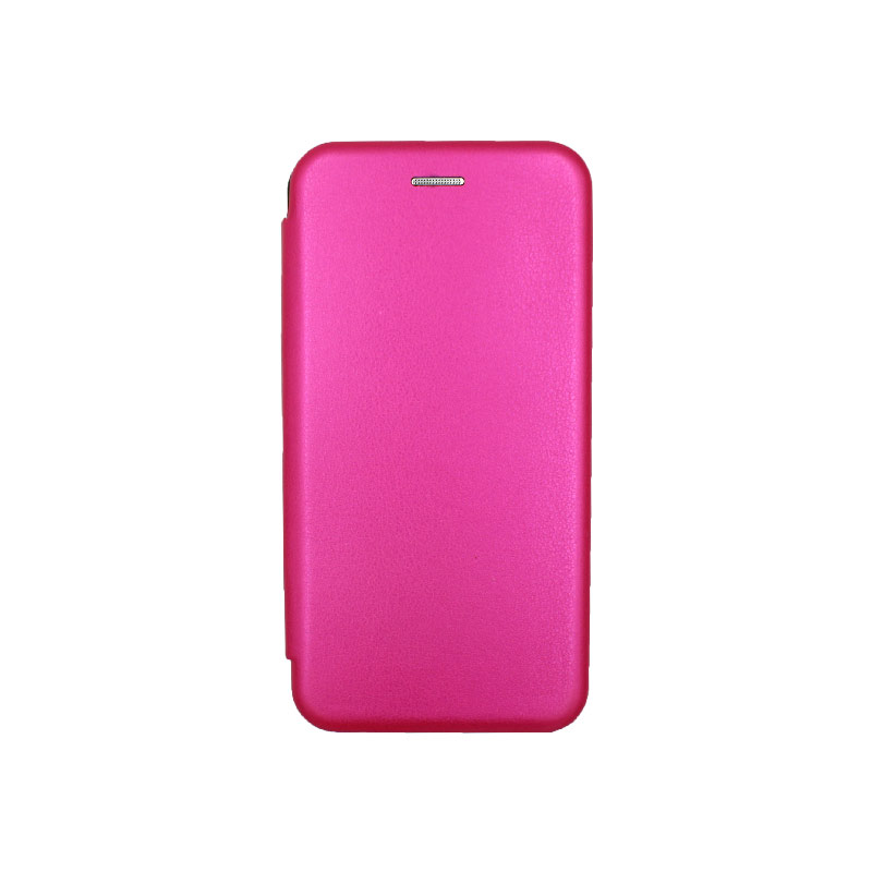 Θήκη Xiaomi Redmi Note 8 Πορτοφόλι με Μαγνητικό Κλείσιμο φουξ 1