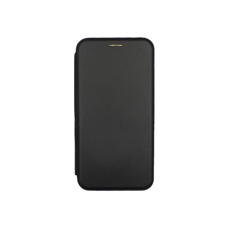 Θήκη Xiaomi Redmi Note 8 Πορτοφόλι με Μαγνητικό Κλείσιμο μαύρο 1