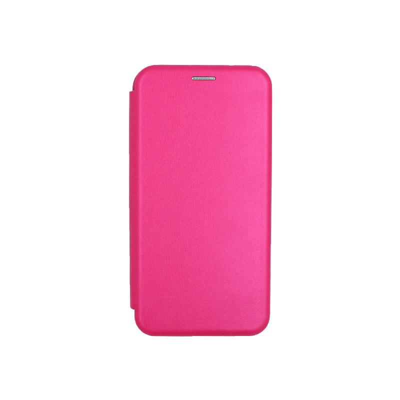 θήκη iphone 11 Pro μαγνητικό κλείσιμο φουξ1