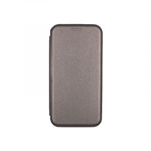 θήκη iphone Xs Max μαγνητικό κλείσιμο γκρι1
