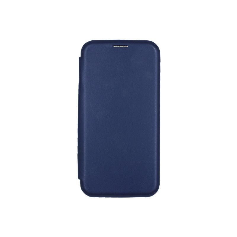 θήκη iphone Xs Max μαγνητικό κλείσιμο μπλε 1