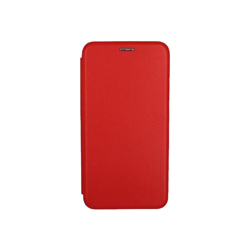θήκη Xiaomi Pocophone F1 πορτοφόλι με μαγνήτη κόκκινο 1