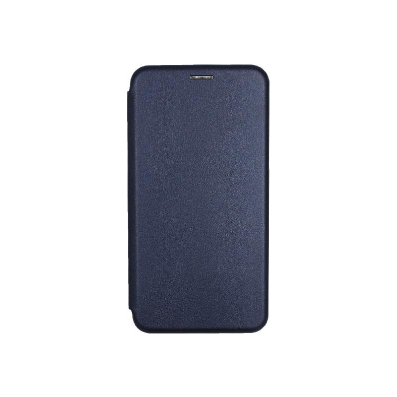 θήκη Xiaomi Pocophone F1 πορτοφόλι με μαγνήτη μπλε 1