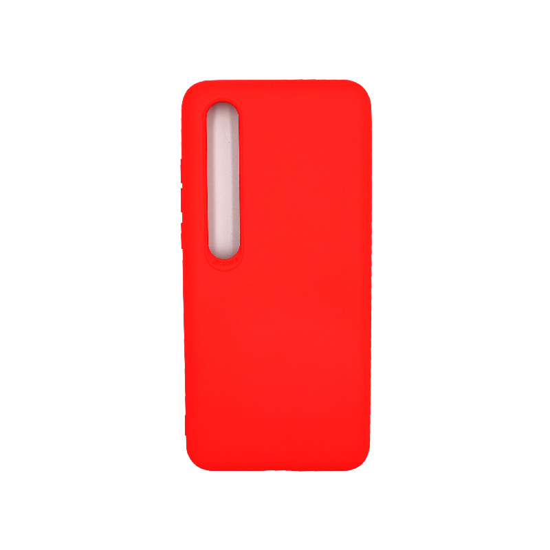 Θήκη Xiaomi Mi 10 / Mi 10 Pro Silky and Soft Touch Silicone πορτοκαλί 1