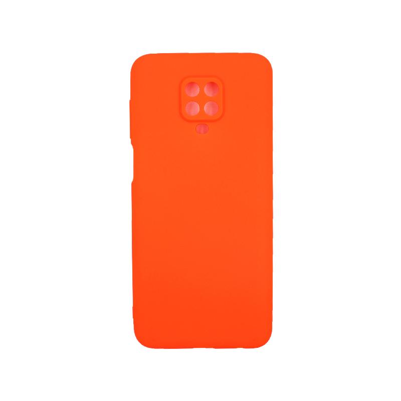 Θήκη Xiaomi Redmi Note 9S / Note 9 Pro / Max Σιλικόνη πορτοκαλί