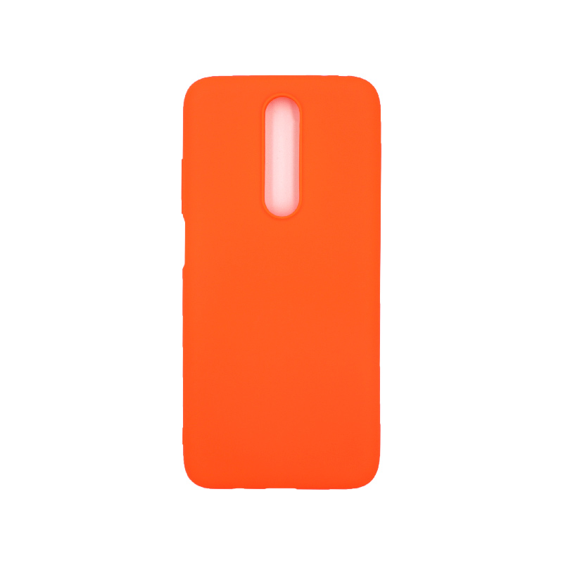Θήκη Xiaomi Redmi K30 / K30 5G σιλικόνη πορτοκαλί