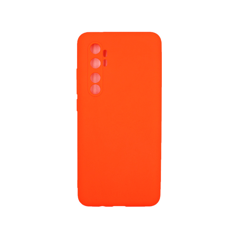 Θήκη Xiaomi Mi Note 10 Lite Σιλικόνη πορτοκαλί