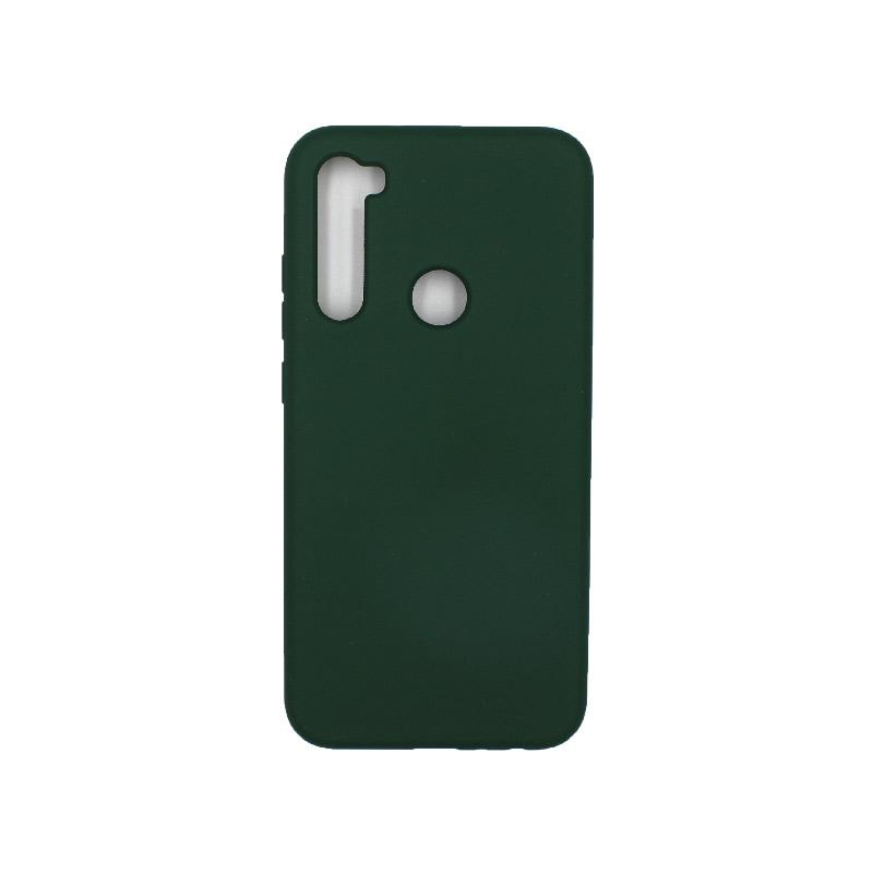Θήκη Xiaomi Redmi Note 8 Silky and Soft Touch Silicone πράσινο 1
