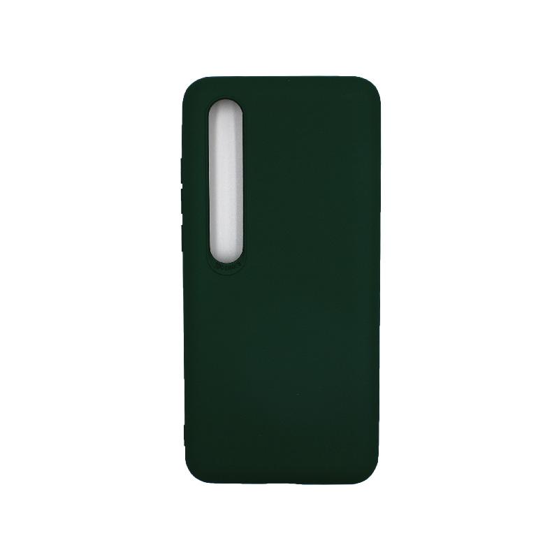 Θήκη Xiaomi Mi 10 / Mi 10 Pro Silky and Soft Touch Silicone πράσινο 1