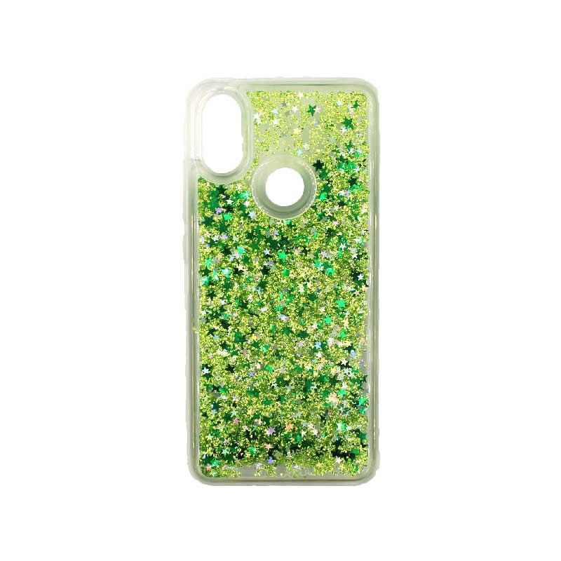 Θήκη Xiaomi Redmi S2 Liquid Glitter πράσινο 1