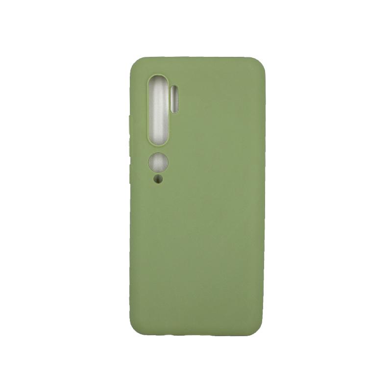 Θήκη Xiaomi Mi Note 10 / Note 10 Pro / CC9 Pro Σιλικόνη πράσινο