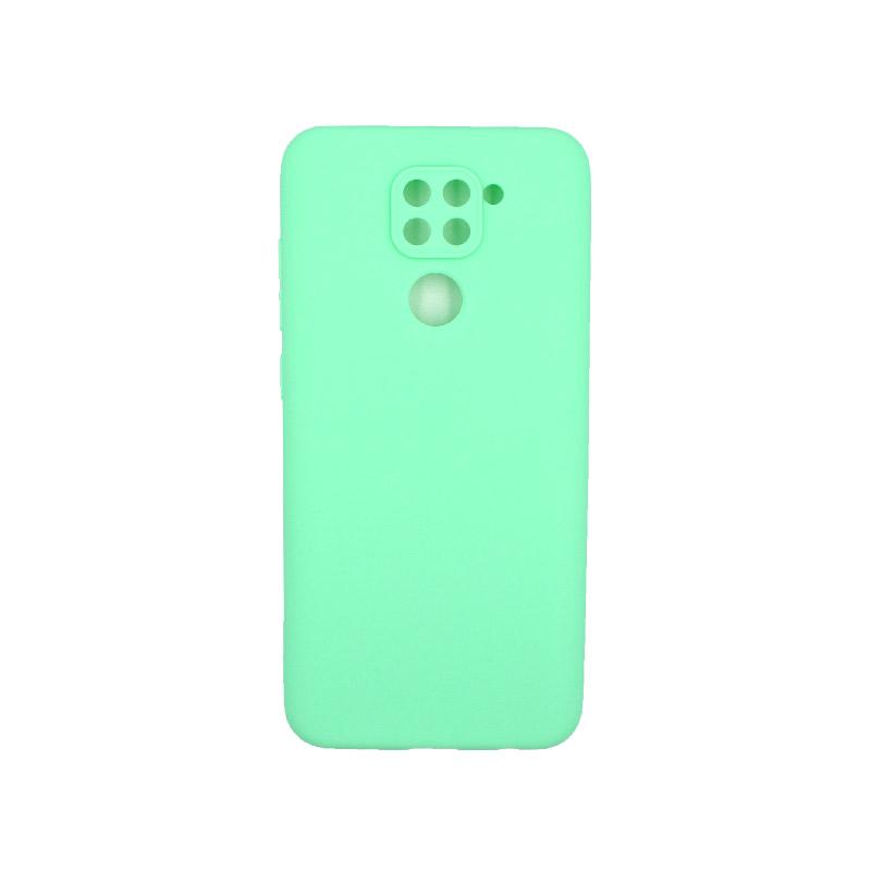 Θήκη Xiaomi Redmi Note 9 Σιλικόνη πράσινο