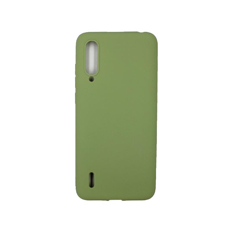 Θήκη Xiaomi Mi 9 Lite / CC9 / A3 Lite Σιλικόνη πράσινο
