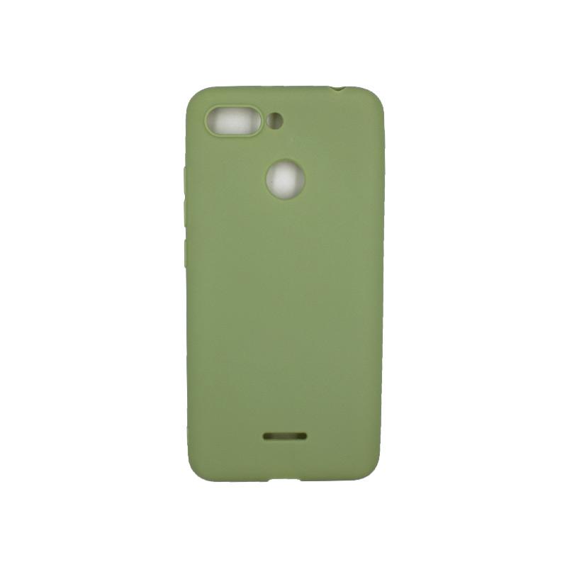 Θήκη Xiaomi Redmi 6 Σιλικόνη πράσινο