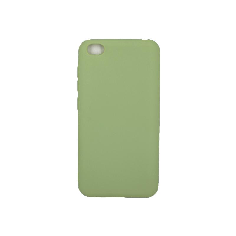 Θήκη Xiaomi Redmi Go Σιλικόνη πράσινο