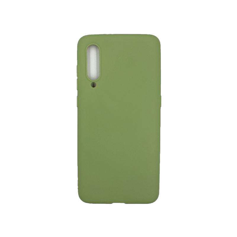 θήκη Xiaomi Mi 9 σιλικόνη πράσινο
