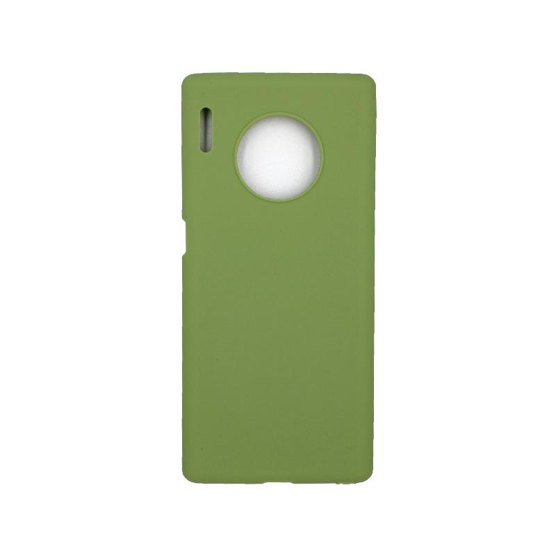 Θήκη Huawei Mate 30 Pro Σιλικόνη πράσινο