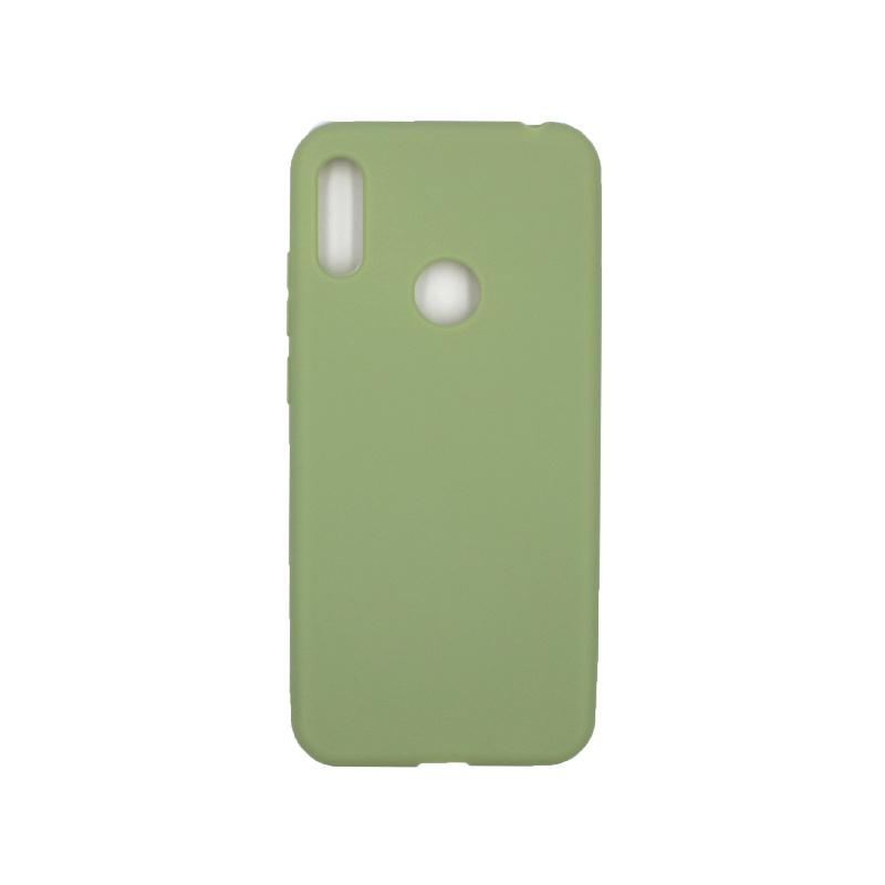 Θήκη Huawei Y6 2019 Σιλικόνη πράσινο