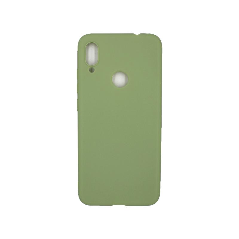 Θήκη Xiaomi Redmi Note 7 / 7 Pro Σιλικόνη πράσινο