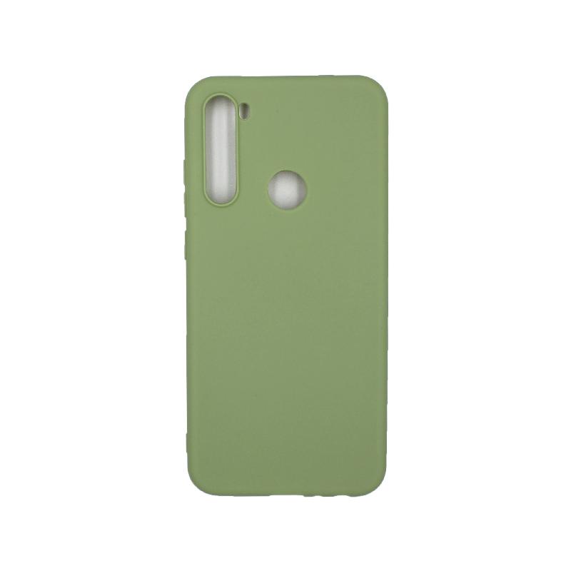 Θήκη Xiaomi Redmi Note 8T Σιλικόνη πράσινο