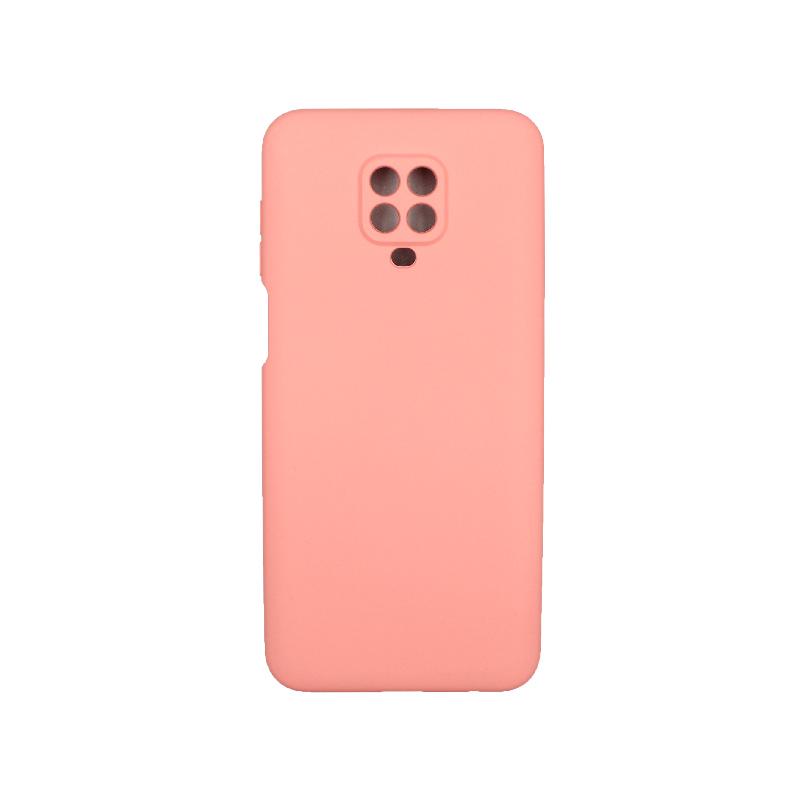 Θήκη Xiaomi Redmi Note 9S / Note 9 Pro / Max Silky and Soft Touch Silicone ροζ 1