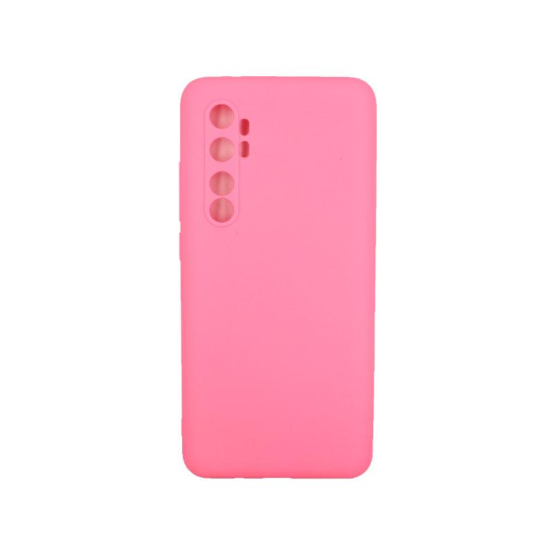 Θήκη Xiaomi Mi Note 10 Lite Σιλικόνη ροζ