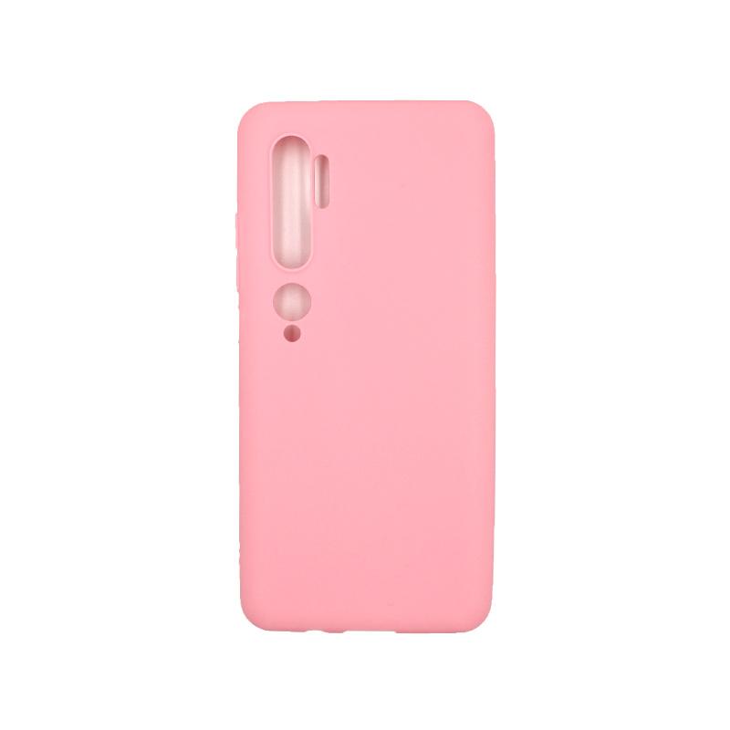 Θήκη Xiaomi Mi Note 10 / Note 10 Pro / CC9 Pro Σιλικόνη ροζ