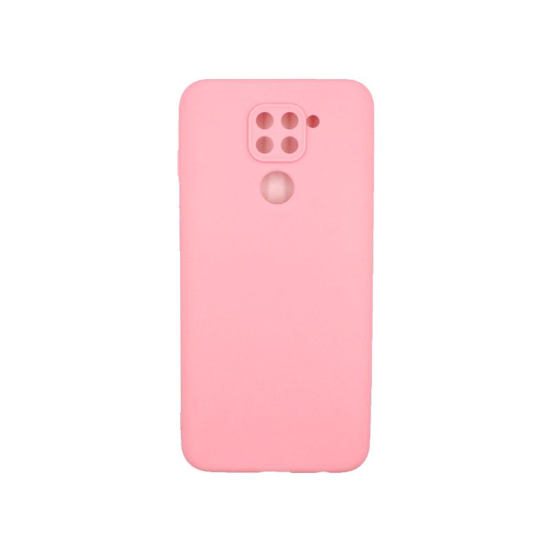 Θήκη Xiaomi Redmi Note 9 Σιλικόνη ροζ