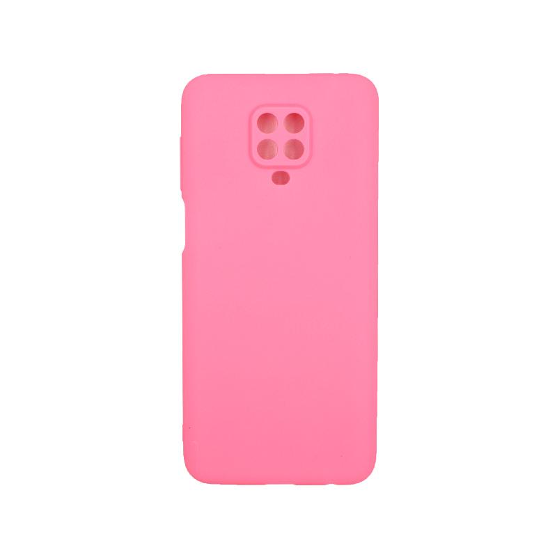 Θήκη Xiaomi Redmi Note 9S / Note 9 Pro / Max Σιλικόνη ροζ