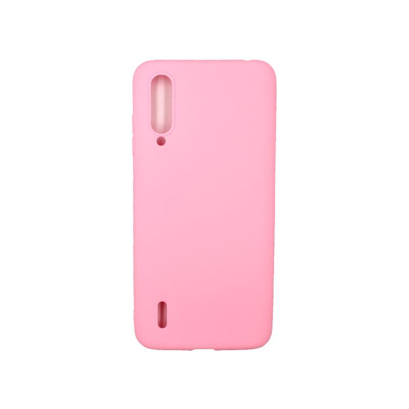 Θήκη Xiaomi Mi 9 Lite / CC9 / A3 Lite Σιλικόνη ροζ