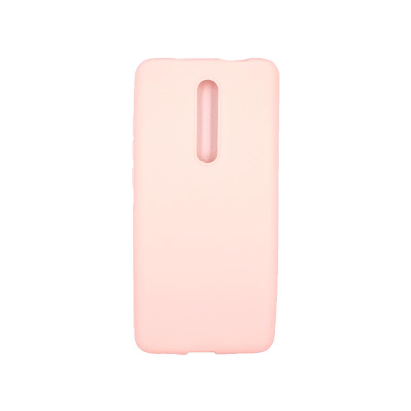 Θήκη Xiaomi Mi 9T / K20 / K20 Pro 9 Σιλικόνη απαλό ροζ