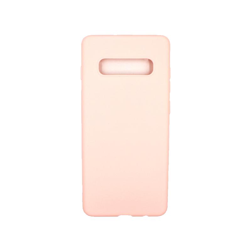 Θήκη Samsung Galaxy S10 Plus Σιλικόνη απαλό ροζ