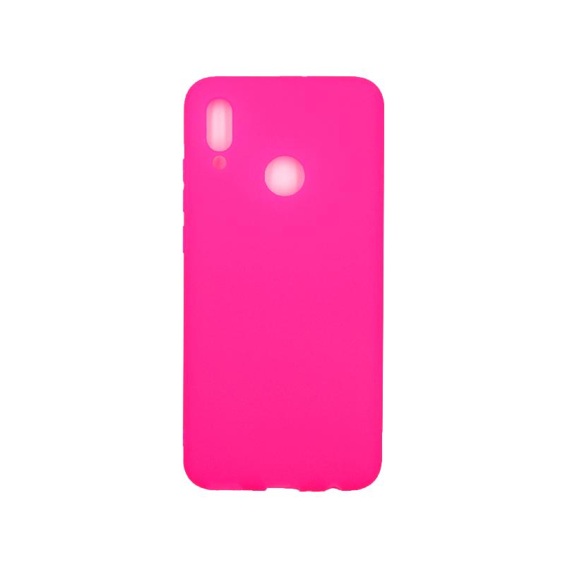 Θήκη Huawei P Smart 2019 Σιλικόνη φουξ