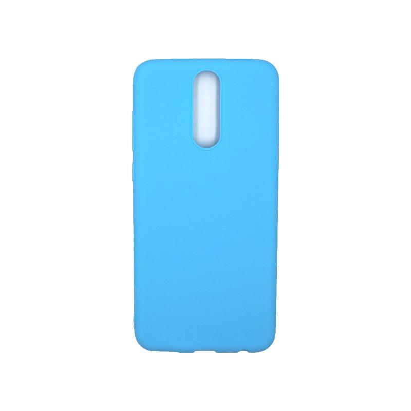 Θήκη Huawei Mate 10 Lite Σιλικόνη γαλάζιο