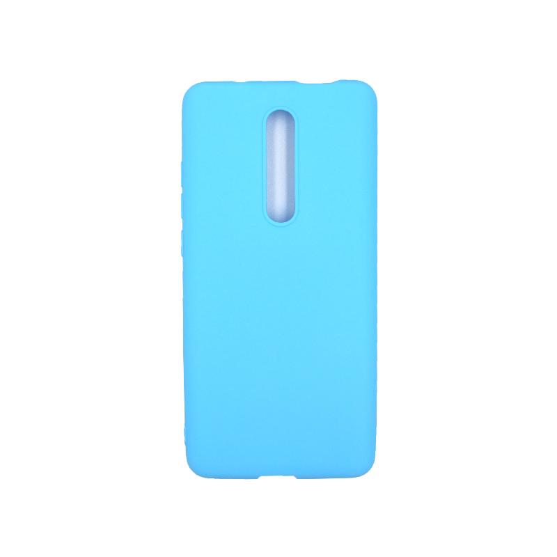 Θήκη Xiaomi Mi 9T / K20 / K20 Pro 9 Σιλικόνη γαλάζιο