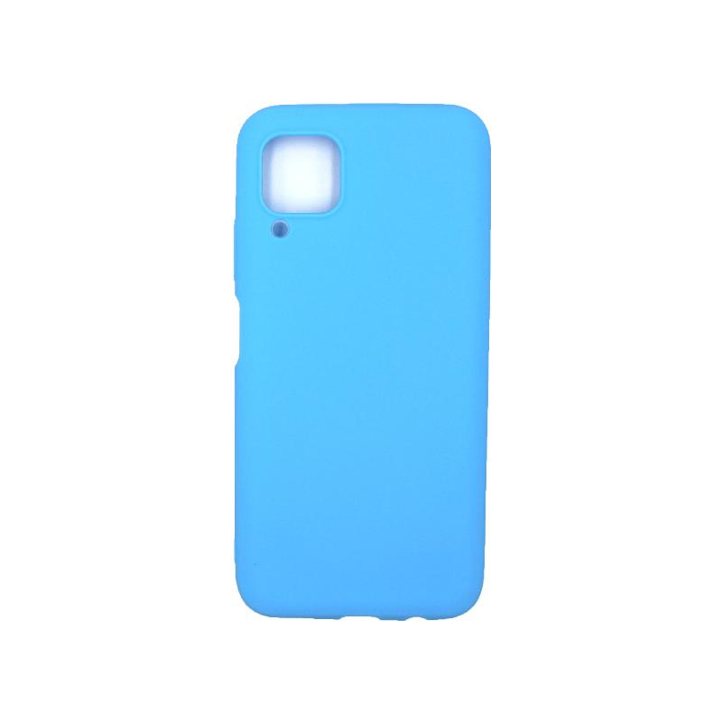 Θήκη Huawei P40 Lite Σιλικόνη γαλάζιο
