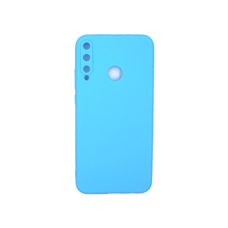 Θήκη Huawei P40 Lite E Σιλικόνη γαλάζιο