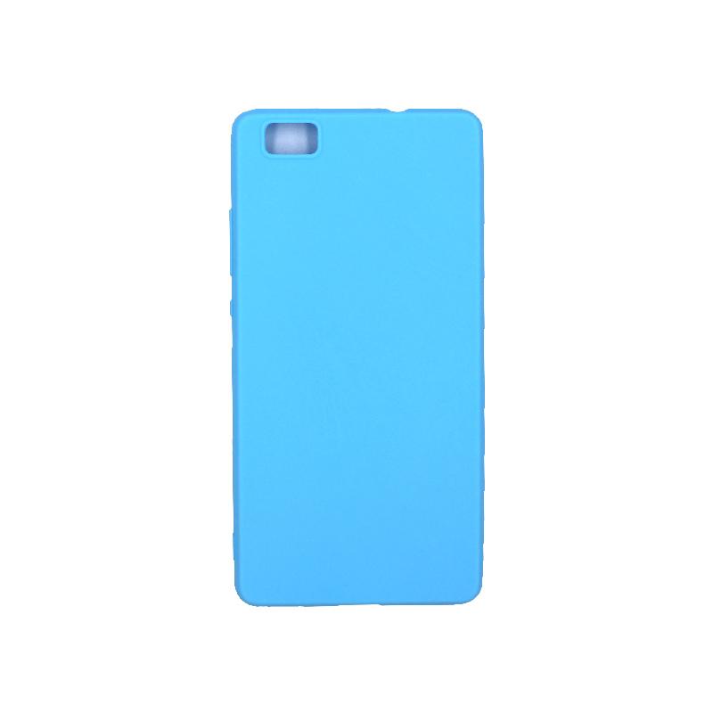 Θήκη Huawei P8 Lite Σιλικόνη γαλάζιο
