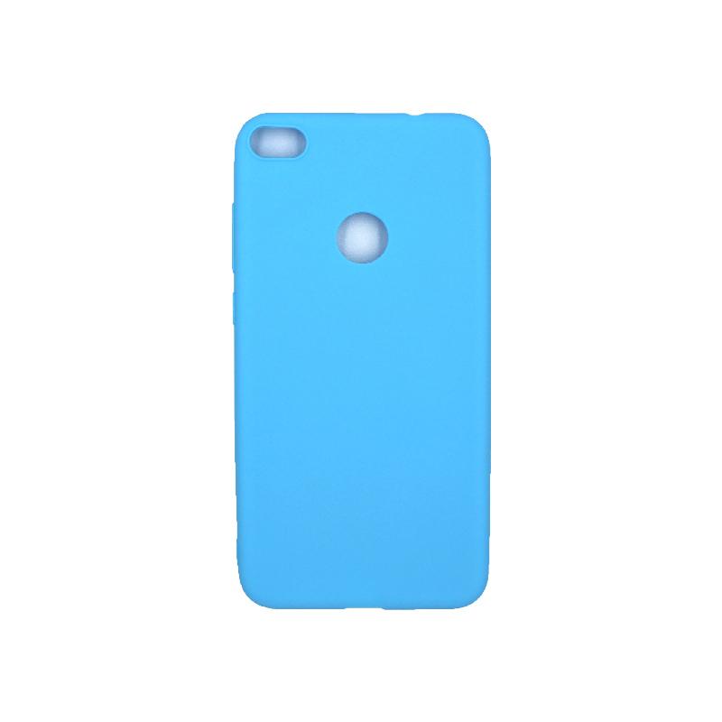 Θήκη Huawei P8 / P9 Lite 2017 Σιλικόνη γαλάζιο