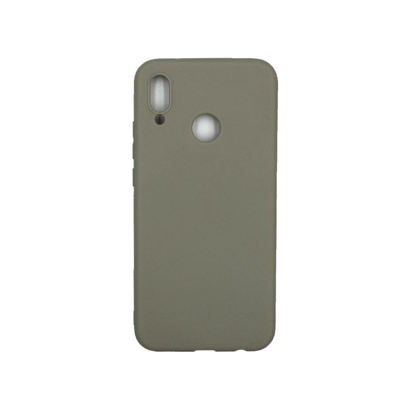 Θήκη Huawei P20 Lite Σιλικόνη γκρι