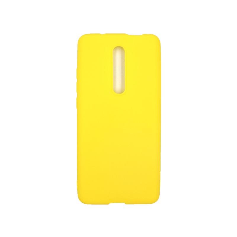 Θήκη Xiaomi Mi 9T / K20 / K20 Pro 9 Σιλικόνη κίτρινο