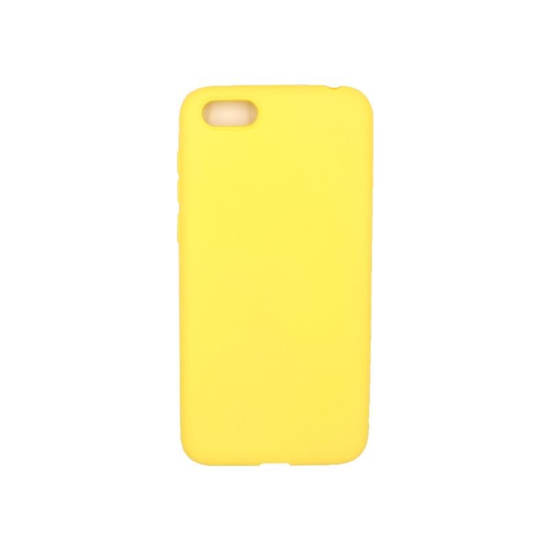 Θήκη Huawei Y5 2018 Σιλικόνη κίτρινο