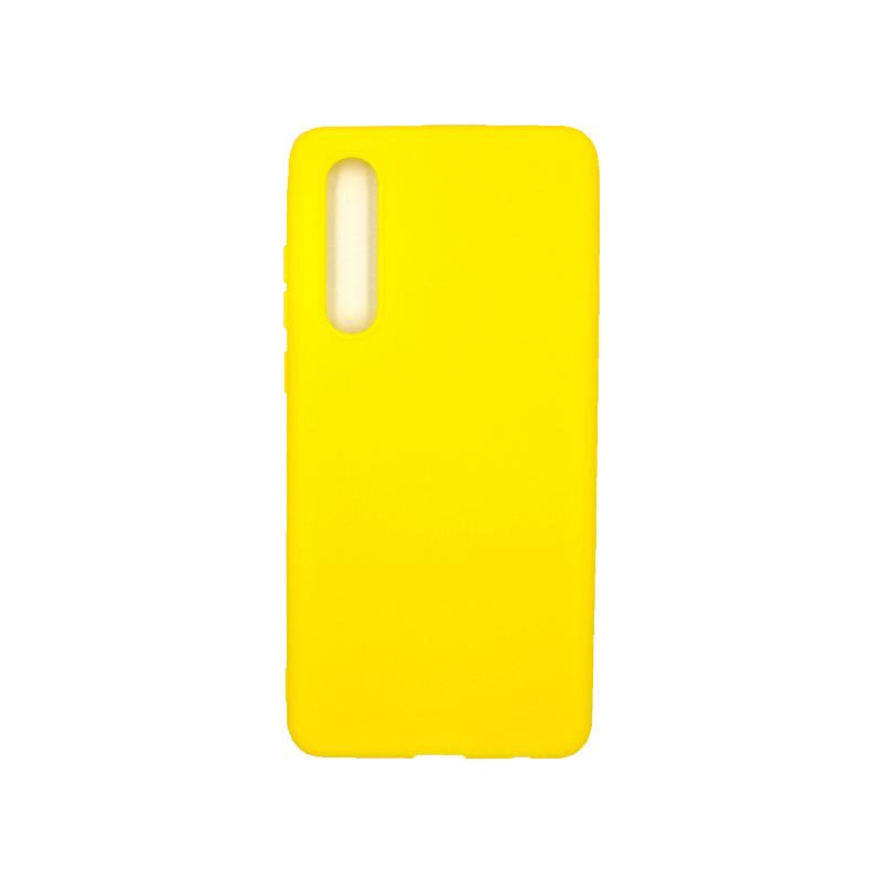 Θήκη Huawei P30 Pro Σιλικόνη κίτρινο
