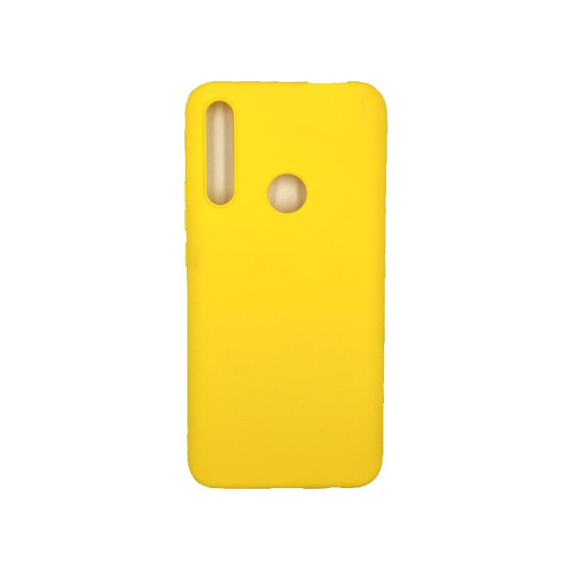Θήκη Huawei P Smart Z Σιλικόνη κίτρινο