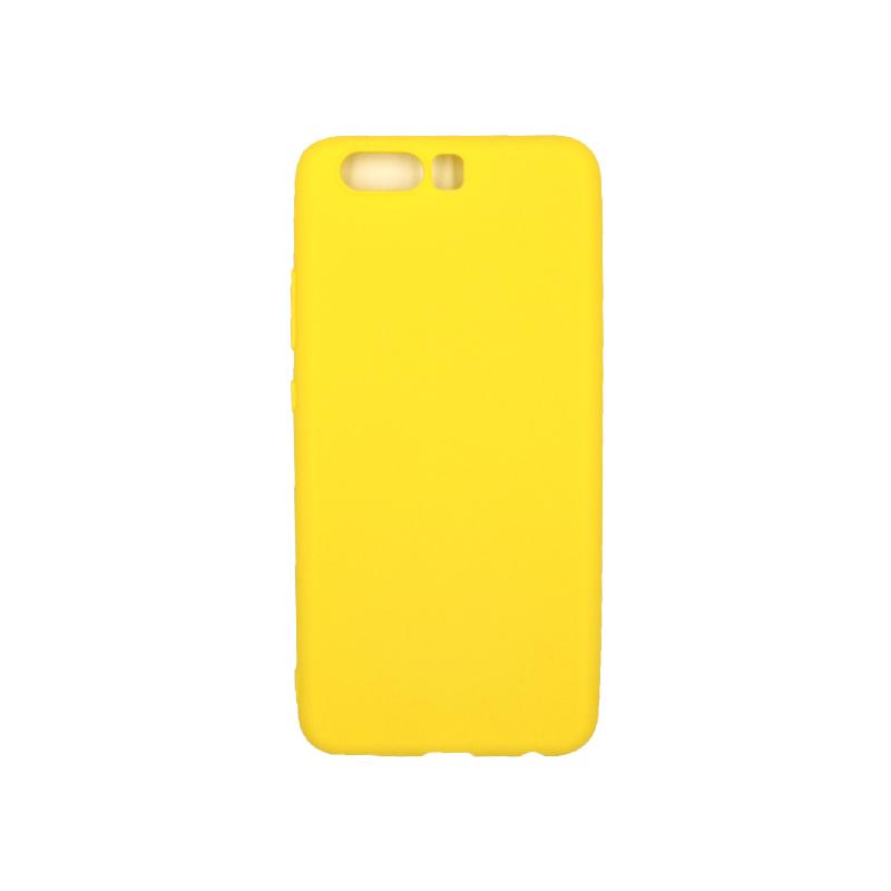 Θήκη Huawei P10 Σιλικόνη κίτρινο