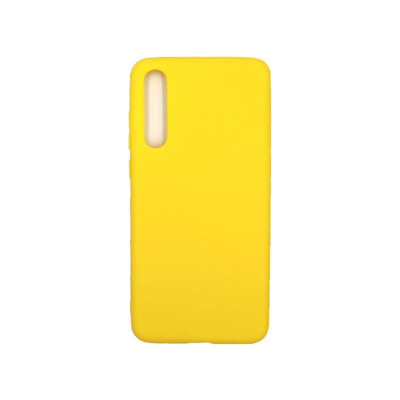 Θήκη Huawei P20 Pro Σιλικόνη κίτρινο